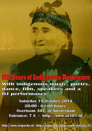 Image: 522 years of Indigenous Resistance